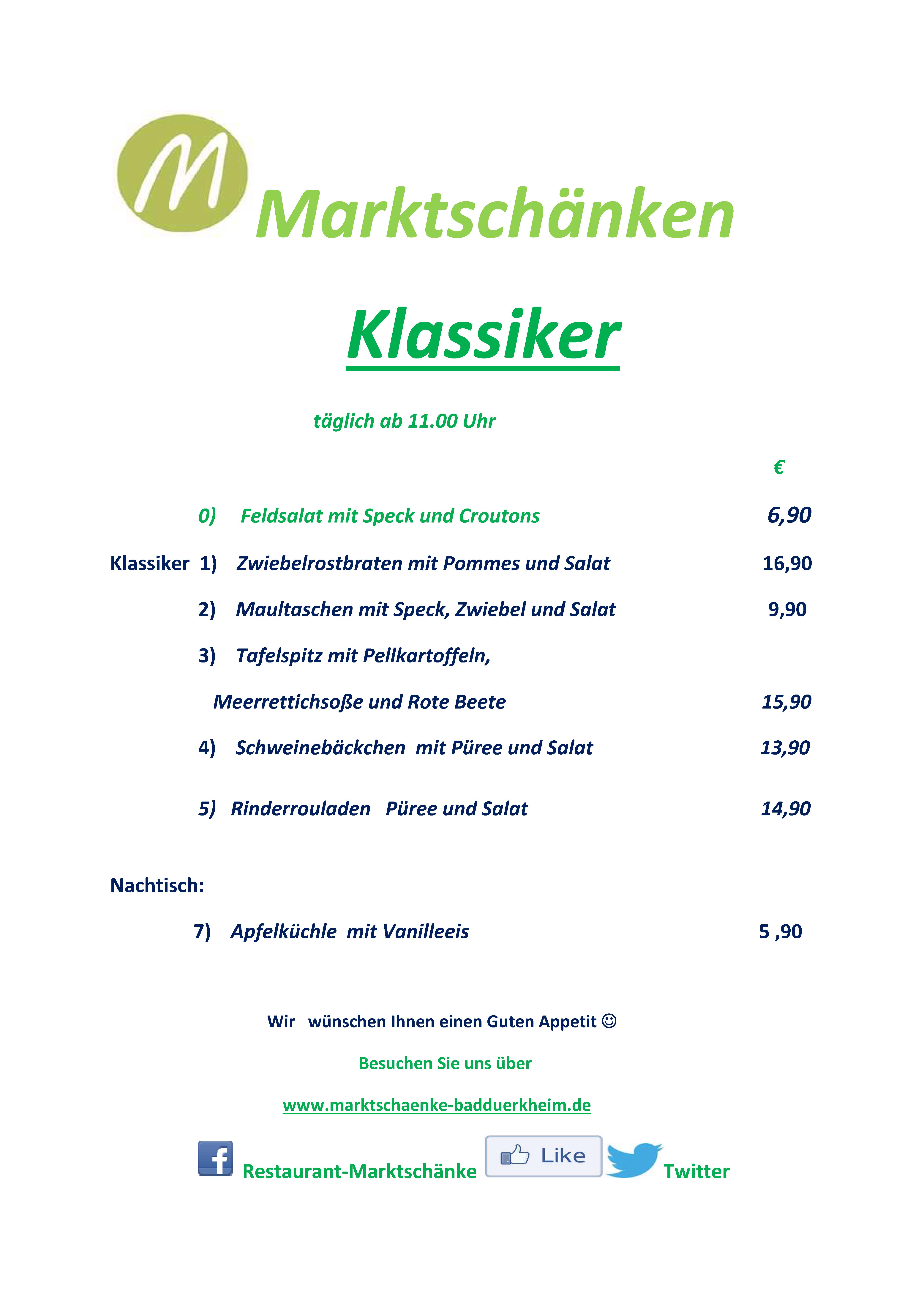 klassiker_feb18 | Restaurant und Hotel