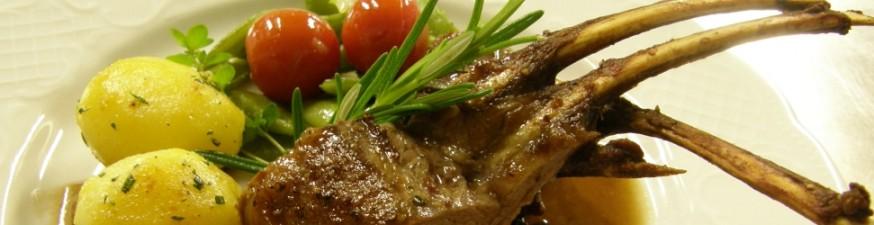 Aus der Küche: Lammkotelett